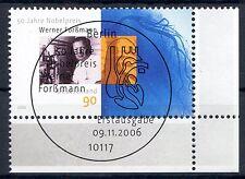Bund Mi-Nr 2573  Ecke 4 (90 ct) -50 J.Nobelpreis Medizin- ESST Berlin 2006