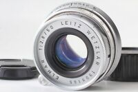 *NEAR MINT* LEICA Leitz Wetzlar Elmar 50mm f/2.8 Lens Silver M Mount from JAPAN