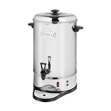 Swan 20L 80 Cup Water Urn Commercial Catering Stainless Steel 1600W Silver New