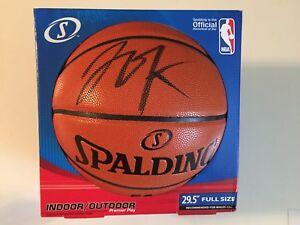 Jahlil Okafor Autographed Signed Basketball - Schwartz