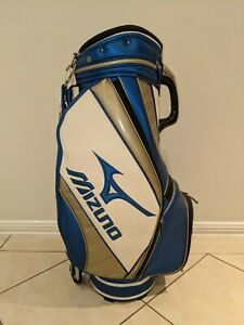 Mizuno Blue White Staff Tour Golf Bag Rain Cover