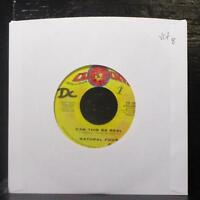 """Natural Four - Can This Be Real / Try Love Again 7"""" VG+ Vinyl 45 Curtom CR-1990"""