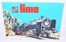 Lima HO Trains Large A5 TOY SHOP COMMERCIAL WINDOW STICKER 1975 TOP RARE!