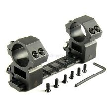 RUGER 1022 10/22 BASE SCOPE MOUNT + 1 Pair High PROFILE 25.4MM RINGS