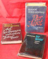 🐺   6x Dostojewski - Paket - gebundene Ausgaben - Bücherpaket Russland Sammlung