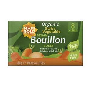 💚 Marigold Natural Yeast Free Bouillon 8Cubes 84g