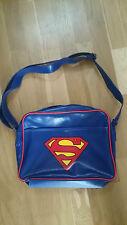 Superman Retro Style Shoulder Messenger Sports Bag