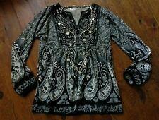 blouse tunique bohème PALME  M-L soit 38 /40/42  Neuf  Val 65€