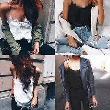 Women Fashion Summer Vest Top Casual Sleeveless Shirt Tops Blouse Tank T-shirt