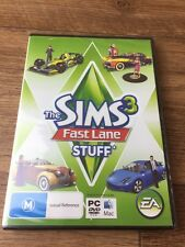 The Sims 3 Fast Lane Stuff PC 2010 Game New In Sealed Box