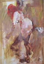 Philippe CARA COSTEA (1925-2006) HsP 1961 Nu Jeune peinture Nl Ecole de Paris