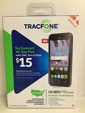 Smartphone Android Tracfone SEALED Alcatel Pixi Unite No Contract Talk Text Data