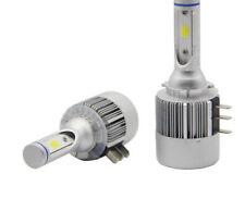 COPPIA LAMPADE H15 AUTO MOTO COB C6 H 15 LED 3800LM 36W 6000K BIANCO T1