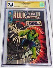Tales to Astonish #97 CGC Signature Series Autograph STAN LEE Plunderer Hulk Sub