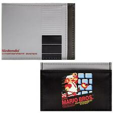 NEW OFFICIAL NES CONSOLE STYLE WITH SUPER MARIO BROS WALLET SET
