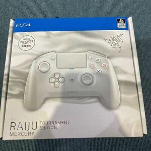 Razer Raiju Tournament Edition Mercury White PC PS4 Official License Controller