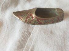 New listing Vintage, Engraved Brass Ashtray