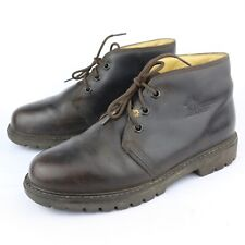Panama Jack Men s Dark Brown Leather Lace Up Ankle Boots Size 40 EUR  6.5 US 3b3107d13e0