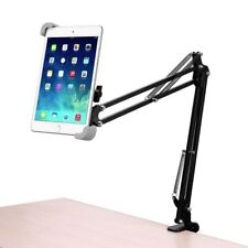 iPad Tablet Stand Universal Tablet Mount Holder Foldable Clamp for Galaxy Tab