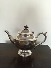 LOVELY FOOTED  SILVER PLATED TEA POT IN FANTASTIC CONDITION  (SPTP 622)