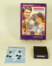 Vintage Boxed Intellivision Game Reversi Tested & Working