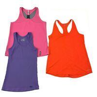Lot of 3 Womens Size Medium Athletic Running Tank Tops Mixed Under Armour & Hind