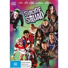 SUICIDE SQUAD-Will Smith-Region 4-New AND Sealed