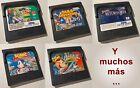 Juegos para Sega Game Gear: Sonic Labyrinth, Tails Adventure, Earthworn Jim, ...