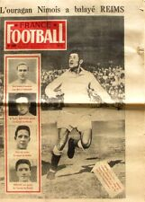 France Football n°609-1957-NIMES-REIMS-AKESBI-BOLLINI-DOMBECK-BILLY WRIGHT