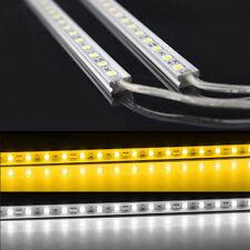 Aluminium Aquarium Teichfische LED Beleuchtung Lampe Strip Leiste Netzteil