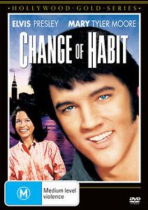 BRAND NEW Change Of Habit (DVD, 1970) R4 Movie Elvis Presley   Mary Tyler Moore