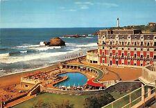 BR8427 Biarritz Hotel du Palais au fond le Phare  france