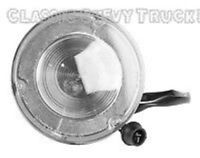 TAIL LIGHT ASSEMBLY STAINLESS STEPSIDE 1967 68 69 70 71 72 CHEVROLET CHEVY TRUCK