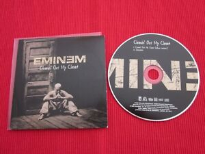 CD SINGLE EMINEM CLEANIN' OUT MY CLOSET STIMULATE 2002