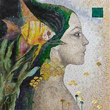 """Felix Mas Realms of Beauty"""" - Mosaic Art Reproduction """" Marine Life Mosaic Tile"""