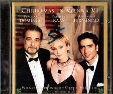 CHRISTMAS IN VIENNA VI PLACIDO DOMINGO PATRICIA KAAS A. FERNANDEZ CD SEALED 1999