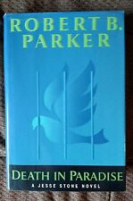 Death in Paradise - Signed by Robert B Parker (Rbp) - 1st Edition, H/C with D/C