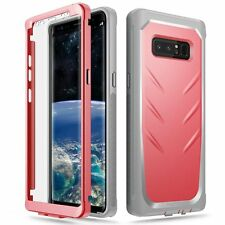 Revolution 360 Degree Protection Rugged Heavy Duty Case for Galaxy Note 8 Pink