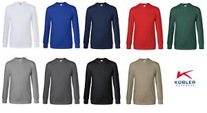 Sweatshirt Pullover Arbeitsshirt KÜBLER Baumwolle/Polyester 300 g/m² bis Gr. 6XL