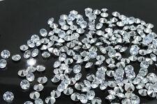 10000 piedras efecto diamantes 4,5 mm efecto cristal y plata decoración mesa