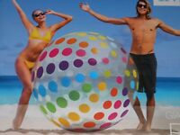 "Mega Großer Wasserball INTEX inflatable Giant inflatable Beach Ball 72"" (1,83m)"