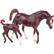 BREYER HORSE MODEL 62046 - 1:12 SCALE CHESTNUT ARAB MARE & FOAL - NEW IN BOX