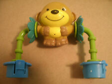 Replacement Tumbling Monkey 4 Evenflo Jungle Exersaucer Switch a Roo Toy Vguc