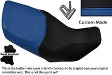 ROYAL BLUE & BLACK CUSTOM FITS HONDA XL 1000 V VARADERO 99-07 DUAL SEAT COVER