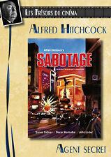 DVD Agent secret (Sabotage) - Alfred Hitchcock