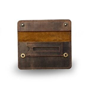 Tobacco Pouch Full Grain Buffalo Hide Brown High Quality Vintage Leather Sydney