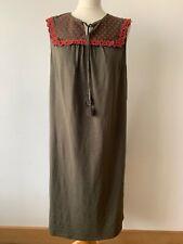 Boden Women's Nella Jersey Dress CD4 Classic Khaki Size 16 L