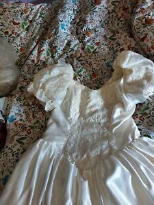 Margaret Lee 90s Wedding Dress Size 14