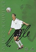 67212 Oliver Neuville original signierte DFB Karte