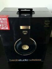 Beats  Dr. Dre X MCM Studio Wireless Headband Wireless Headphones - Black/Gold